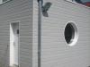 Maison Ossature Bois - Bardage canexel sans entretien gris