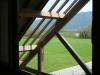 Maison Ossature Bois - Toiture façade est