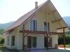Maison Ossature Bois - Façades ouest et nord